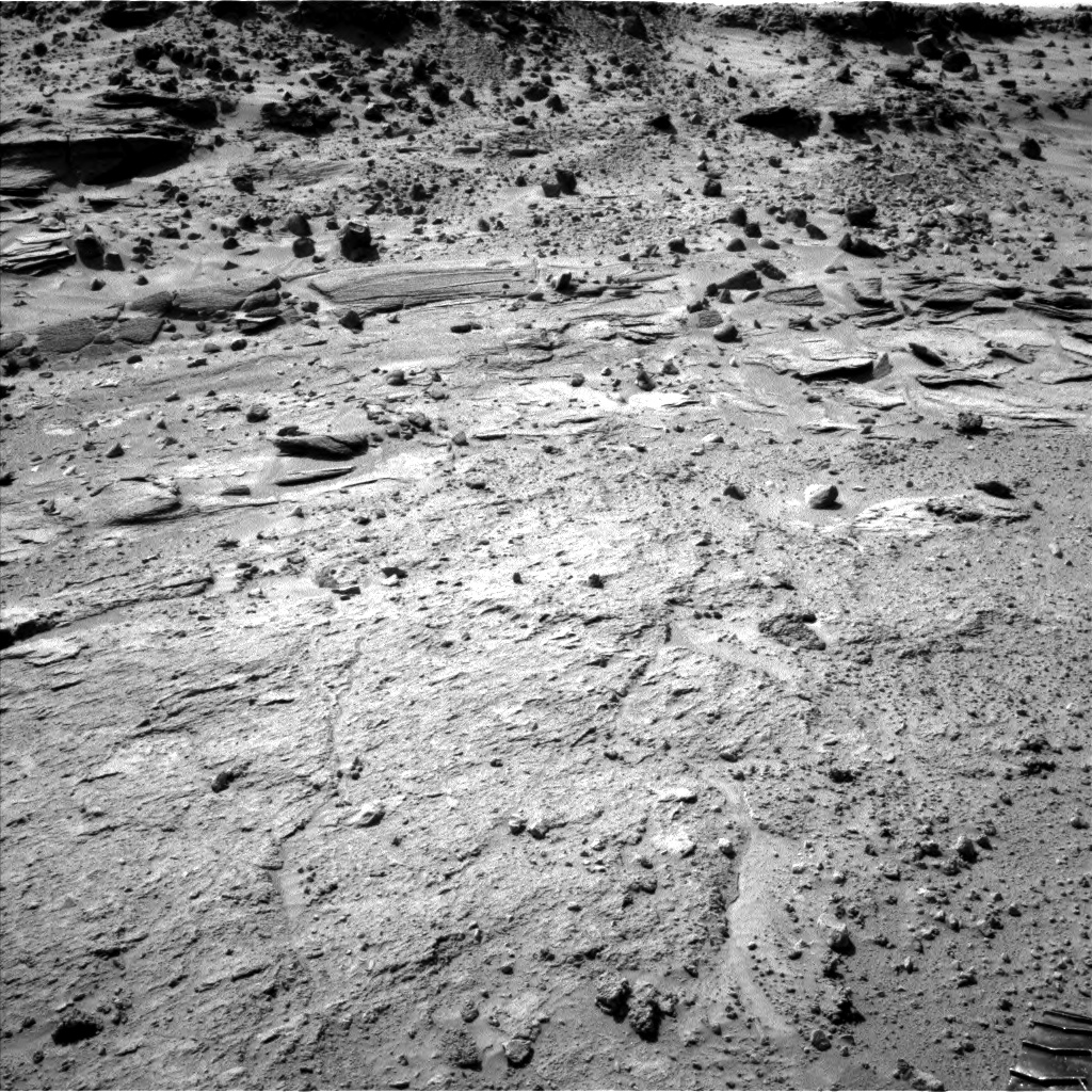 Nasa's Mars rover Curiosity acquired this image using its Left Navigation Camera on Sol 539, at drive 708, site number 26