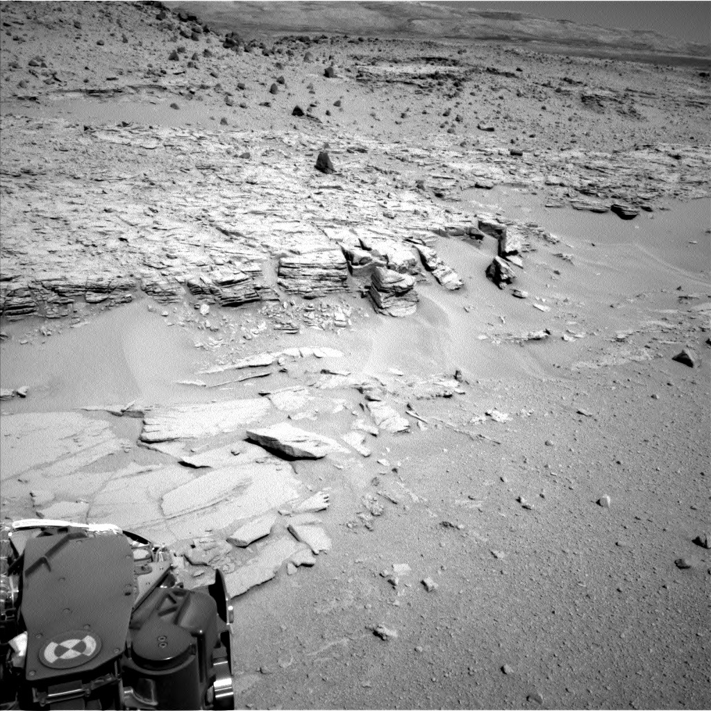 NASA's Mars rover Curiosity acquired this image using its Left Navigation Camera (Navcams) on Sol 539