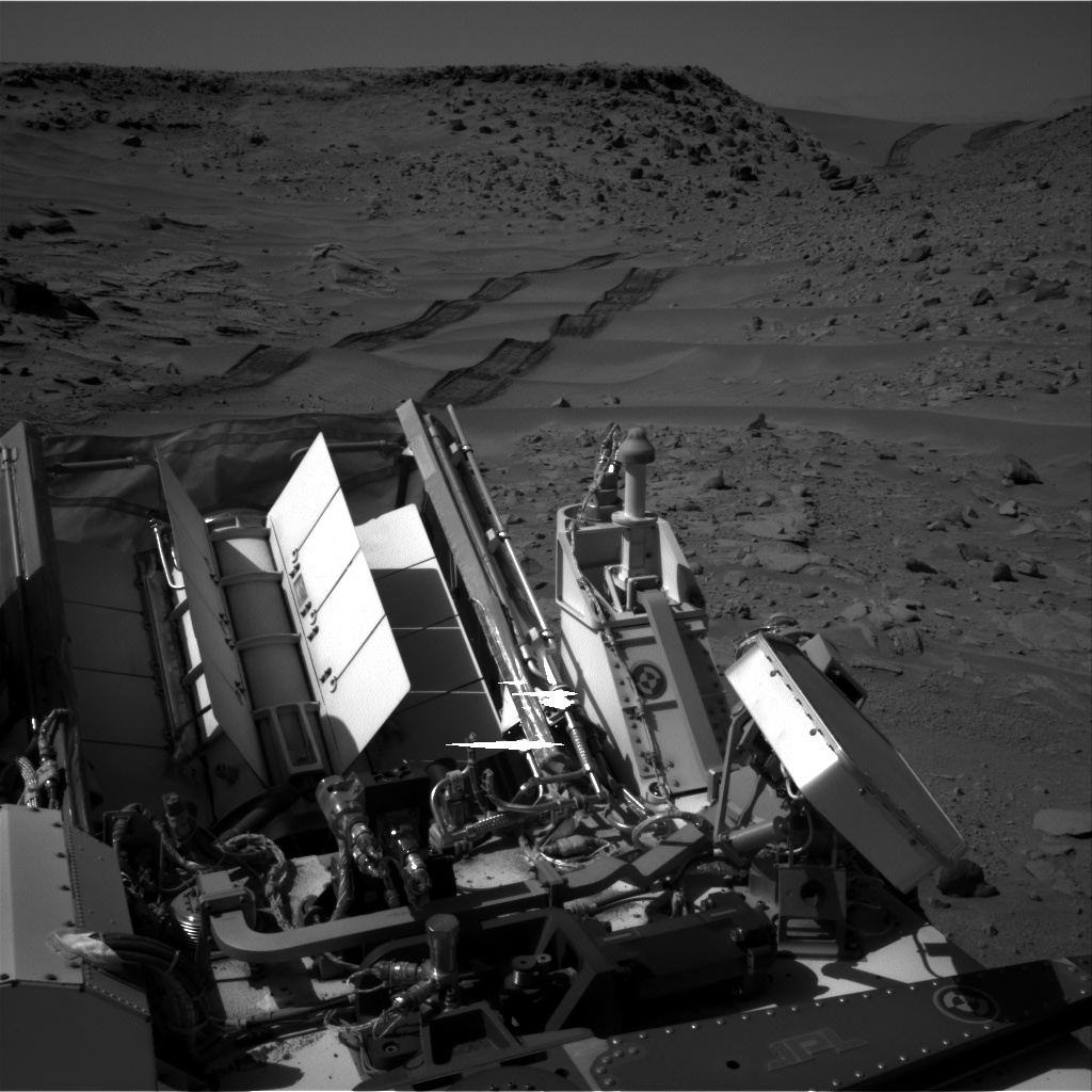 Nasa's Mars rover Curiosity acquired this image using its Right Navigation Camera on Sol 539, at drive 708, site number 26