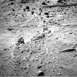 Nasa's Mars rover Curiosity acquired this image using its Left Navigation Camera on Sol 540, at drive 750, site number 26