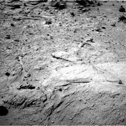 Nasa's Mars rover Curiosity acquired this image using its Left Navigation Camera on Sol 540, at drive 816, site number 26