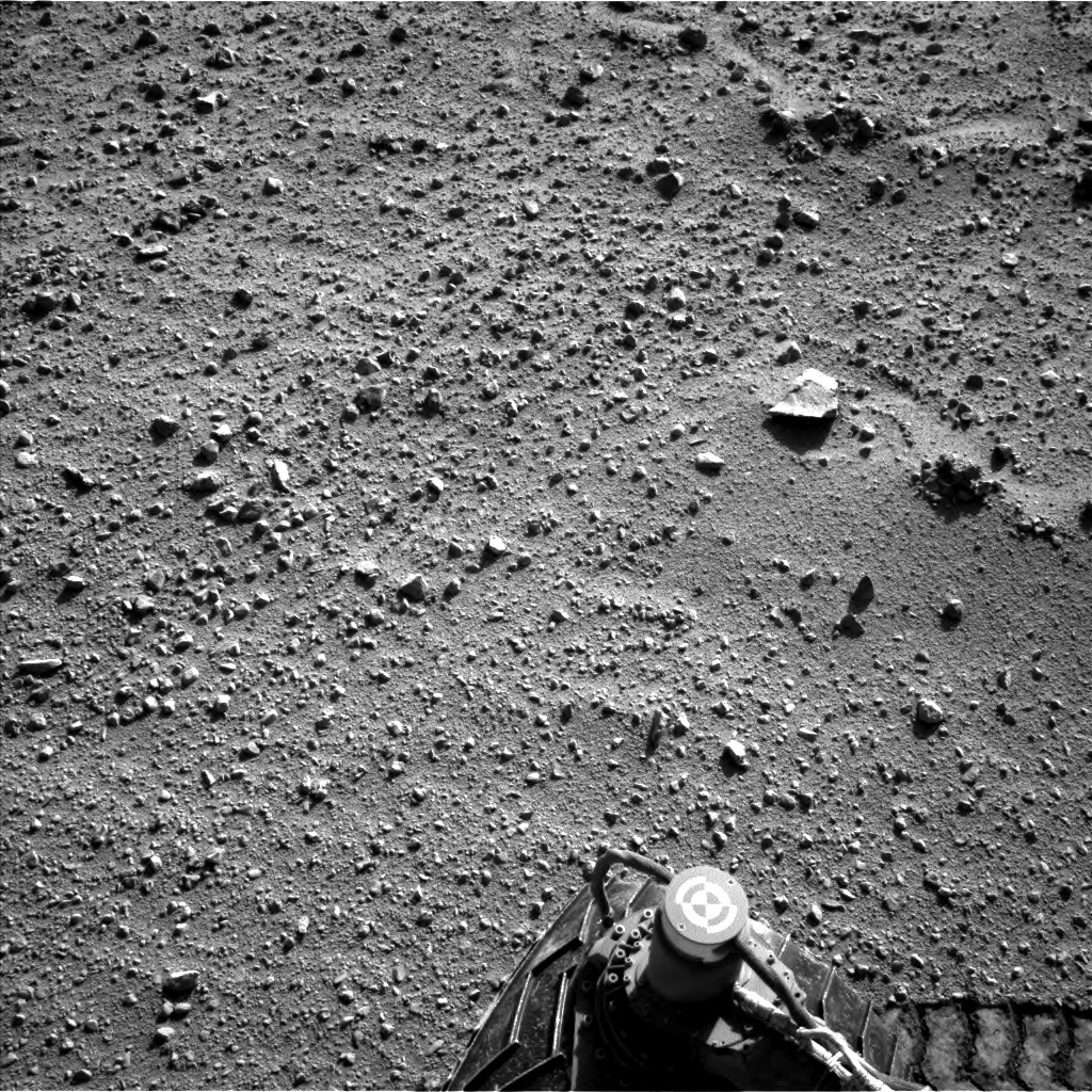 Nasa's Mars rover Curiosity acquired this image using its Left Navigation Camera on Sol 540, at drive 1102, site number 26