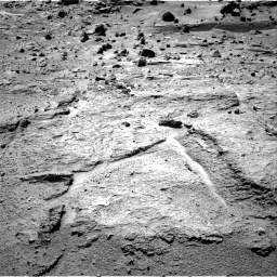 Nasa's Mars rover Curiosity acquired this image using its Right Navigation Camera on Sol 540, at drive 738, site number 26
