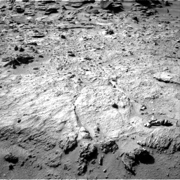 Nasa's Mars rover Curiosity acquired this image using its Right Navigation Camera on Sol 540, at drive 828, site number 26