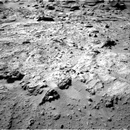 Nasa's Mars rover Curiosity acquired this image using its Right Navigation Camera on Sol 540, at drive 846, site number 26