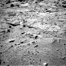 NASA's Mars rover Curiosity acquired this image using its Right Navigation Cameras (Navcams) on Sol 540