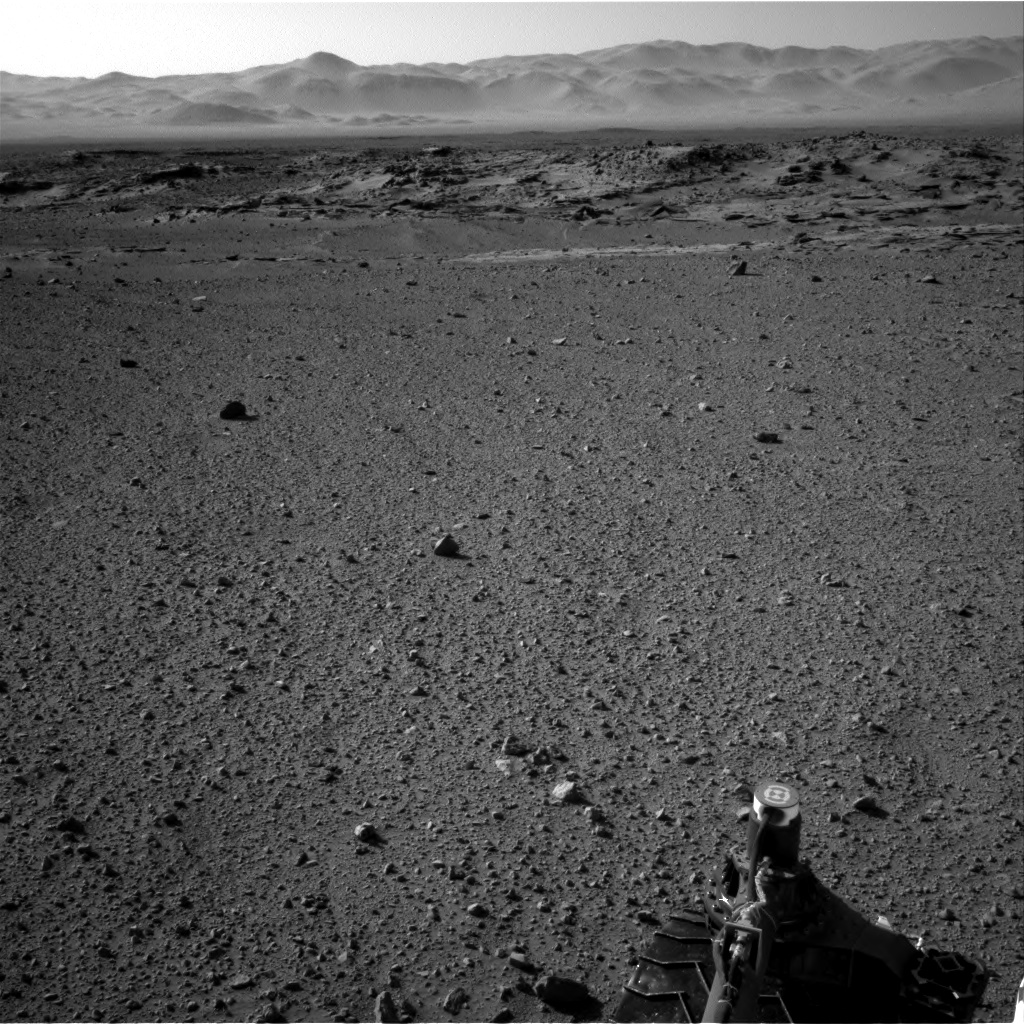Nasa's Mars rover Curiosity acquired this image using its Right Navigation Camera on Sol 540, at drive 1102, site number 26