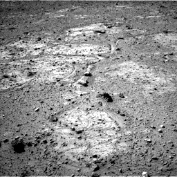 Nasa's Mars rover Curiosity acquired this image using its Left Navigation Camera on Sol 542, at drive 1252, site number 26
