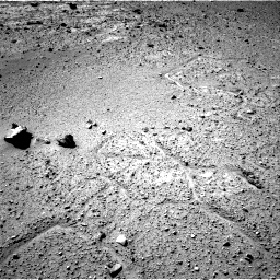 Nasa's Mars rover Curiosity acquired this image using its Right Navigation Camera on Sol 542, at drive 1174, site number 26