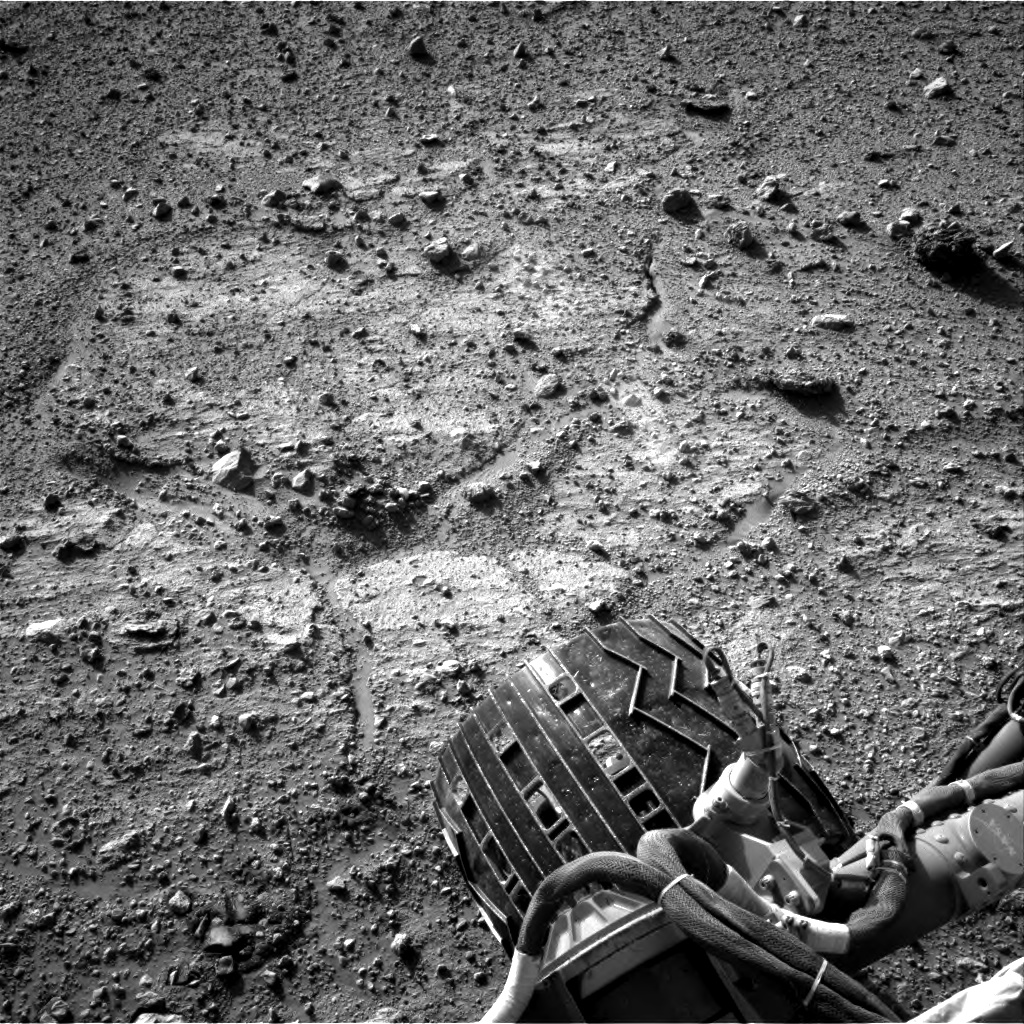 Nasa's Mars rover Curiosity acquired this image using its Right Navigation Camera on Sol 542, at drive 1274, site number 26