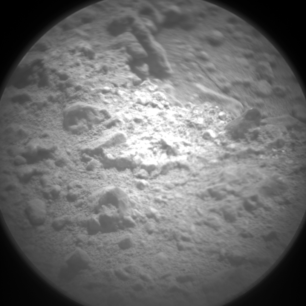Nasa's Mars rover Curiosity acquired this image using its Chemistry & Camera (ChemCam) on Sol 543, at drive 1274, site number 26