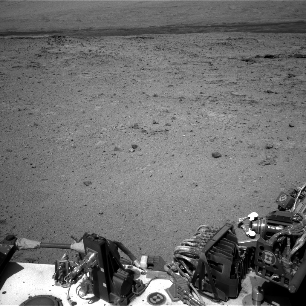 Nasa's Mars rover Curiosity acquired this image using its Left Navigation Camera on Sol 543, at drive 1274, site number 26