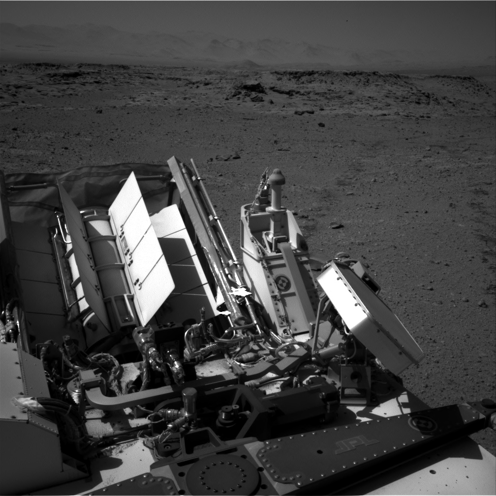 Nasa's Mars rover Curiosity acquired this image using its Right Navigation Camera on Sol 543, at drive 1274, site number 26