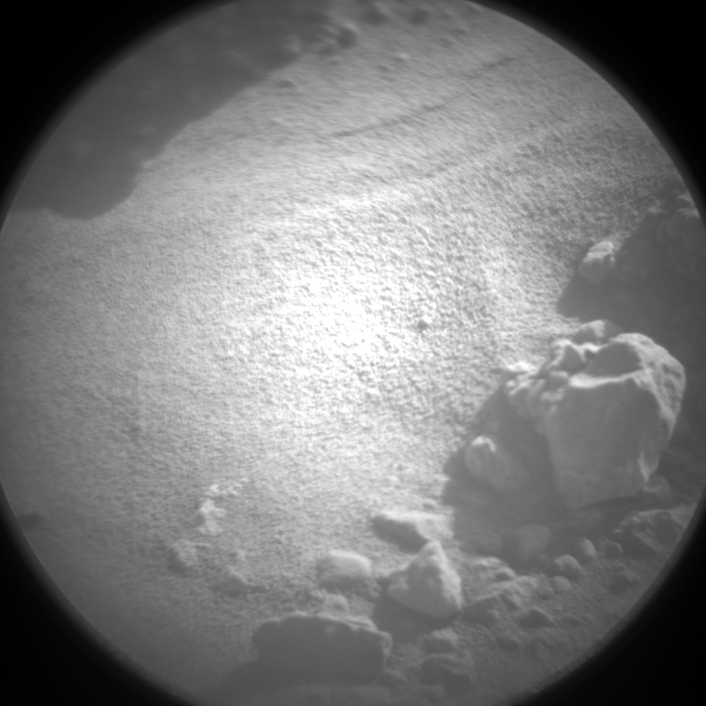 Nasa's Mars rover Curiosity acquired this image using its Chemistry & Camera (ChemCam) on Sol 544, at drive 1274, site number 26