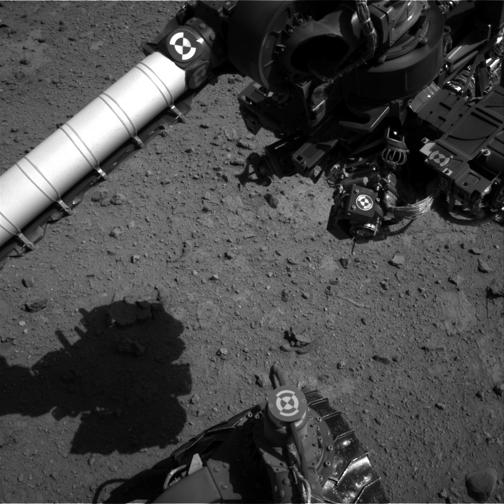 Nasa's Mars rover Curiosity acquired this image using its Right Navigation Camera on Sol 544, at drive 1274, site number 26