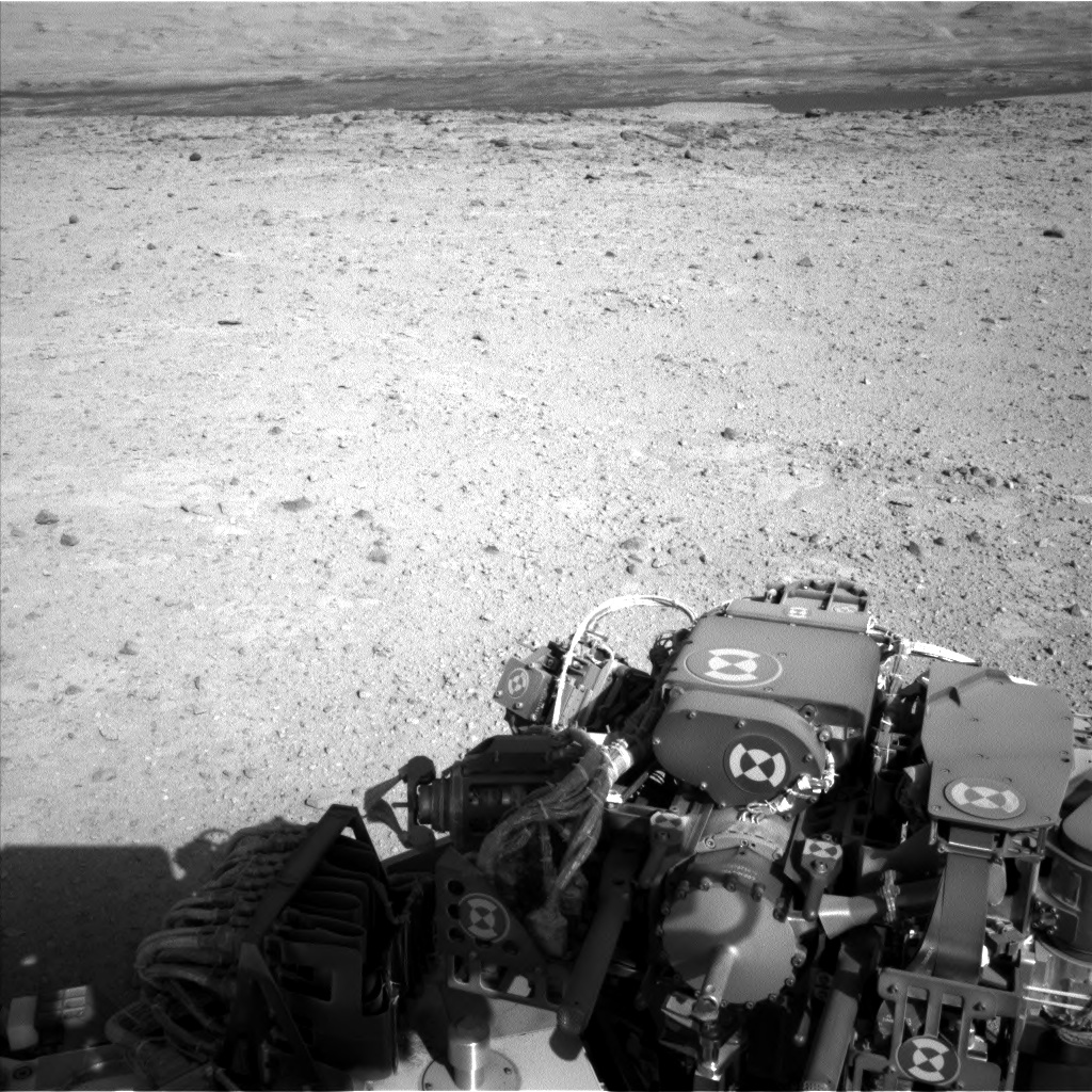 Nasa's Mars rover Curiosity acquired this image using its Left Navigation Camera on Sol 545, at drive 0, site number 27