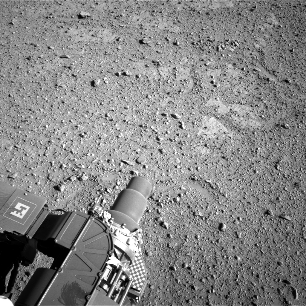Nasa's Mars rover Curiosity acquired this image using its Right Navigation Camera on Sol 545, at drive 0, site number 27