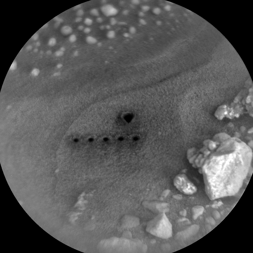 Nasa's Mars rover Curiosity acquired this image using its Chemistry & Camera (ChemCam) on Sol 545, at drive 1274, site number 26