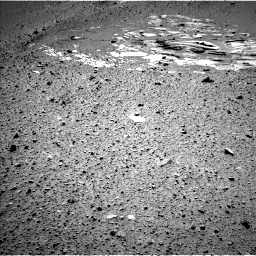 Nasa's Mars rover Curiosity acquired this image using its Left Navigation Camera on Sol 546, at drive 24, site number 27