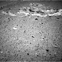 Nasa's Mars rover Curiosity acquired this image using its Right Navigation Camera on Sol 546, at drive 12, site number 27
