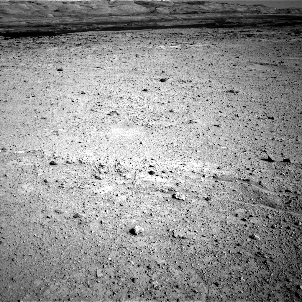 Nasa's Mars rover Curiosity acquired this image using its Right Navigation Camera on Sol 546, at drive 24, site number 27