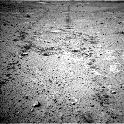 Nasa's Mars rover Curiosity acquired this image using its Left Navigation Camera on Sol 547, at drive 72, site number 27
