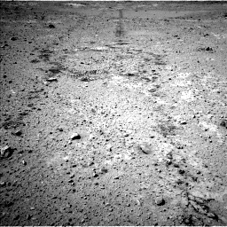 Nasa's Mars rover Curiosity acquired this image using its Left Navigation Camera on Sol 547, at drive 78, site number 27