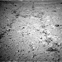 Nasa's Mars rover Curiosity acquired this image using its Left Navigation Camera on Sol 547, at drive 84, site number 27