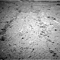 Nasa's Mars rover Curiosity acquired this image using its Left Navigation Camera on Sol 547, at drive 96, site number 27