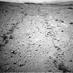 Nasa's Mars rover Curiosity acquired this image using its Left Navigation Camera on Sol 547, at drive 102, site number 27
