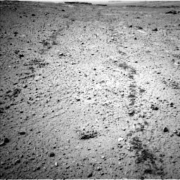Nasa's Mars rover Curiosity acquired this image using its Left Navigation Camera on Sol 547, at drive 120, site number 27