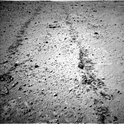 Nasa's Mars rover Curiosity acquired this image using its Left Navigation Camera on Sol 547, at drive 156, site number 27