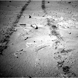 Nasa's Mars rover Curiosity acquired this image using its Left Navigation Camera on Sol 547, at drive 282, site number 27