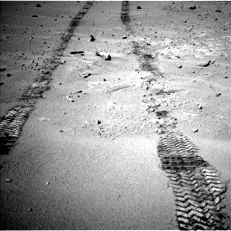 Nasa's Mars rover Curiosity acquired this image using its Left Navigation Camera on Sol 547, at drive 294, site number 27
