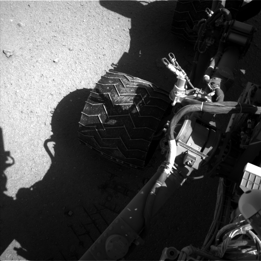 NASA's Mars rover Curiosity acquired this image using its Left Navigation Camera (Navcams) on Sol 547