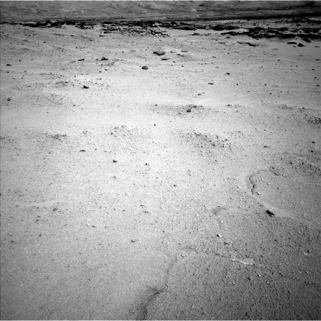 Nasa's Mars rover Curiosity acquired this image using its Left Navigation Camera on Sol 547, at drive 520, site number 27