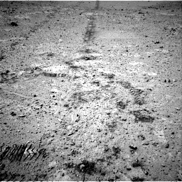 Nasa's Mars rover Curiosity acquired this image using its Right Navigation Camera on Sol 547, at drive 54, site number 27