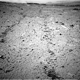 Nasa's Mars rover Curiosity acquired this image using its Right Navigation Camera on Sol 547, at drive 102, site number 27