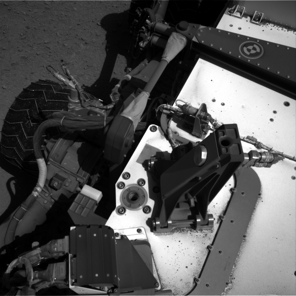 Nasa's Mars rover Curiosity acquired this image using its Right Navigation Camera on Sol 547, at drive 138, site number 27