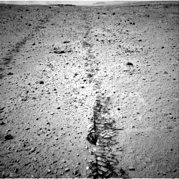 Nasa's Mars rover Curiosity acquired this image using its Right Navigation Camera on Sol 547, at drive 150, site number 27