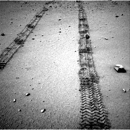 Nasa's Mars rover Curiosity acquired this image using its Right Navigation Camera on Sol 547, at drive 210, site number 27