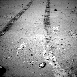 Nasa's Mars rover Curiosity acquired this image using its Right Navigation Camera on Sol 547, at drive 246, site number 27