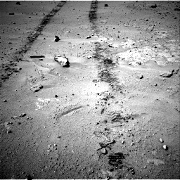 Nasa's Mars rover Curiosity acquired this image using its Right Navigation Camera on Sol 547, at drive 282, site number 27