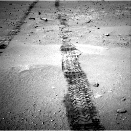 Nasa's Mars rover Curiosity acquired this image using its Right Navigation Camera on Sol 547, at drive 306, site number 27