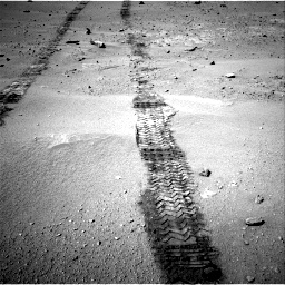 Nasa's Mars rover Curiosity acquired this image using its Right Navigation Camera on Sol 547, at drive 312, site number 27