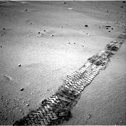 Nasa's Mars rover Curiosity acquired this image using its Right Navigation Camera on Sol 547, at drive 318, site number 27