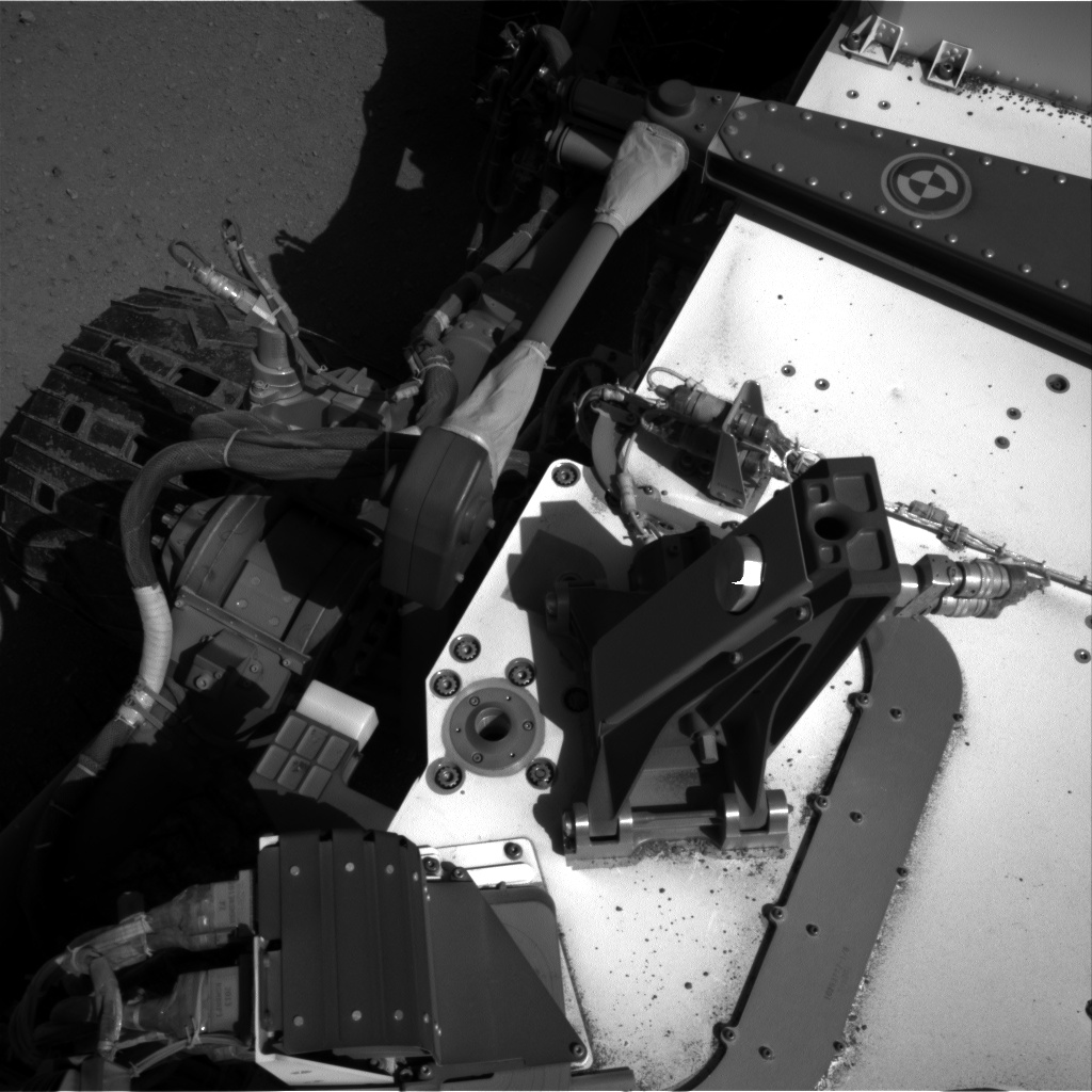 Nasa's Mars rover Curiosity acquired this image using its Right Navigation Camera on Sol 547, at drive 342, site number 27