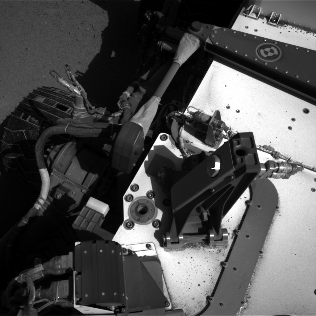 Nasa's Mars rover Curiosity acquired this image using its Right Navigation Camera on Sol 547, at drive 366, site number 27