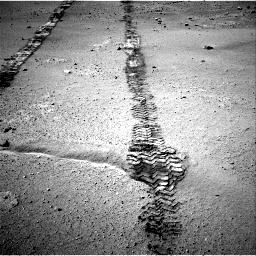 Nasa's Mars rover Curiosity acquired this image using its Right Navigation Camera on Sol 547, at drive 390, site number 27