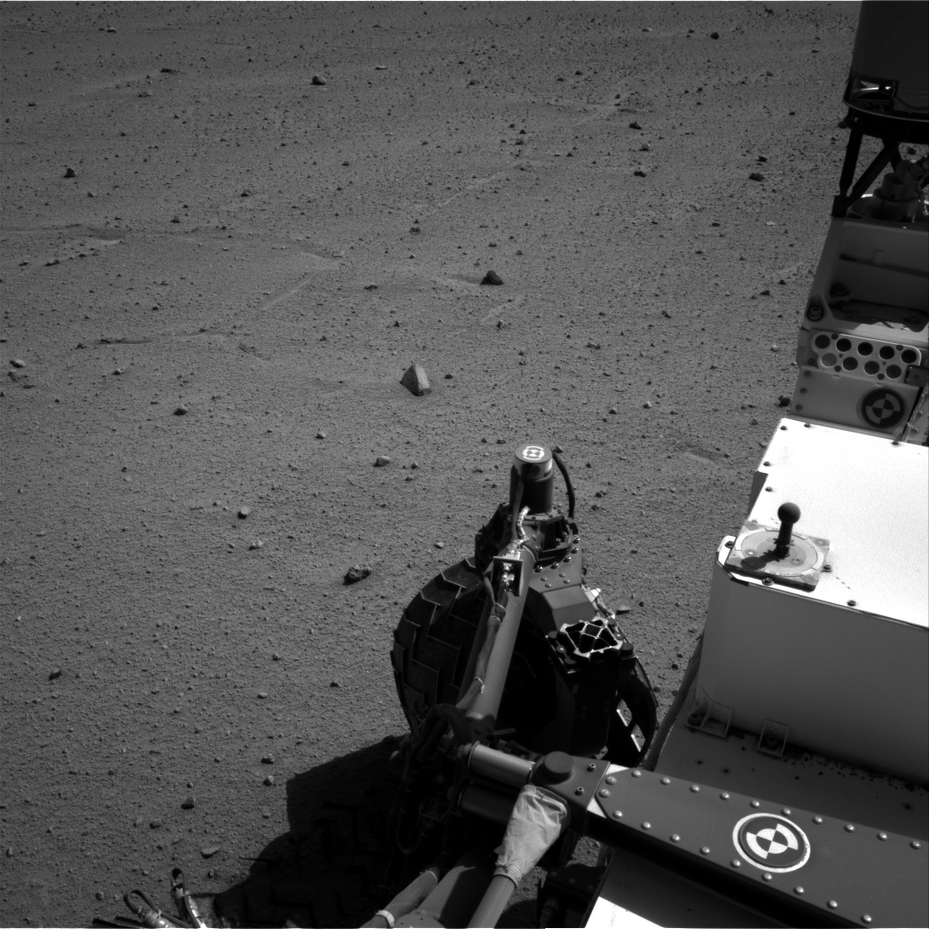 Nasa's Mars rover Curiosity acquired this image using its Right Navigation Camera on Sol 547, at drive 486, site number 27